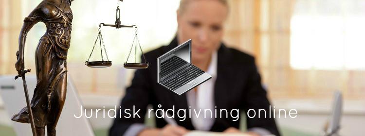 Juridisk rådgivning online